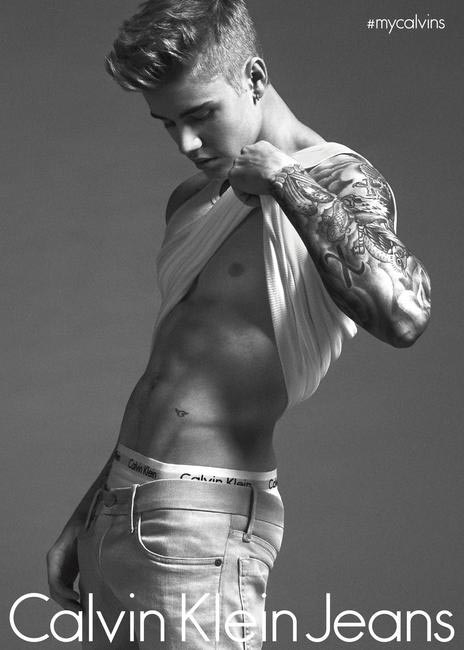 Justin Bieber stars in the latest CK campaign