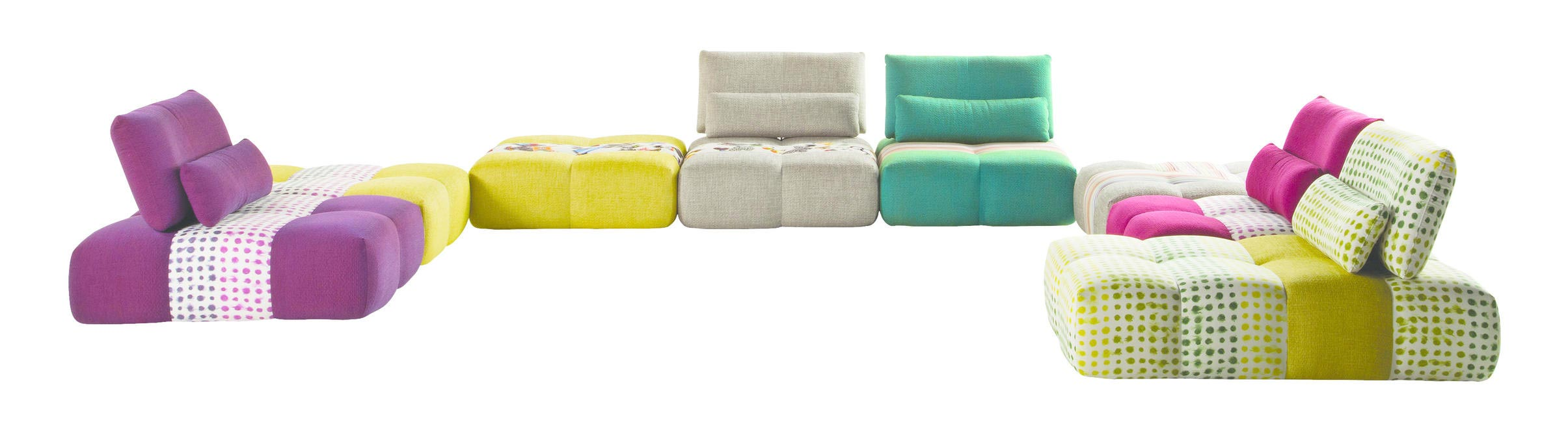 Parcours Sofa by Sacha Lakic