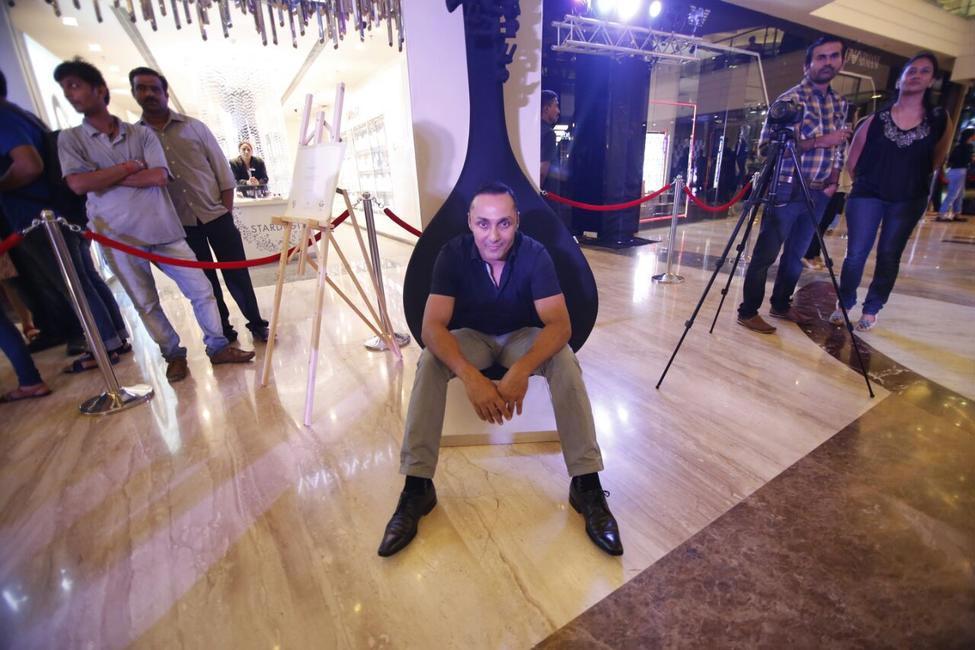 Rahul Bose on a Dot Chair