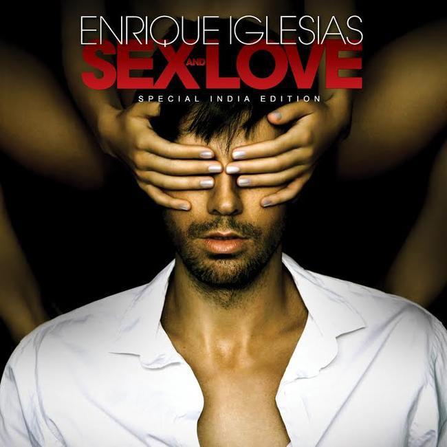 The cover of Enrique's new album