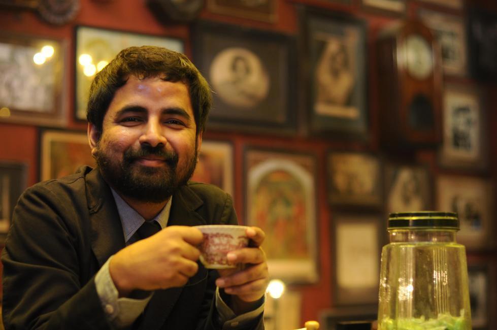A file photo of Sabyasachi at the Kolkata Lake Road store
