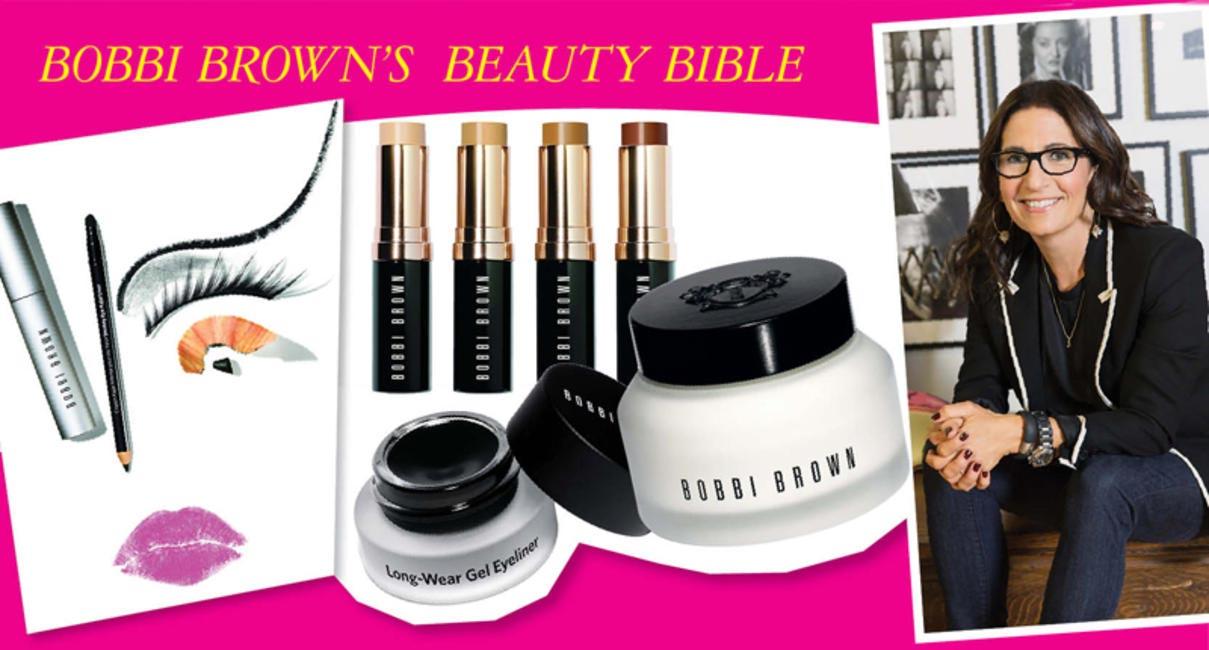 Bobbi Brown's beauty bible