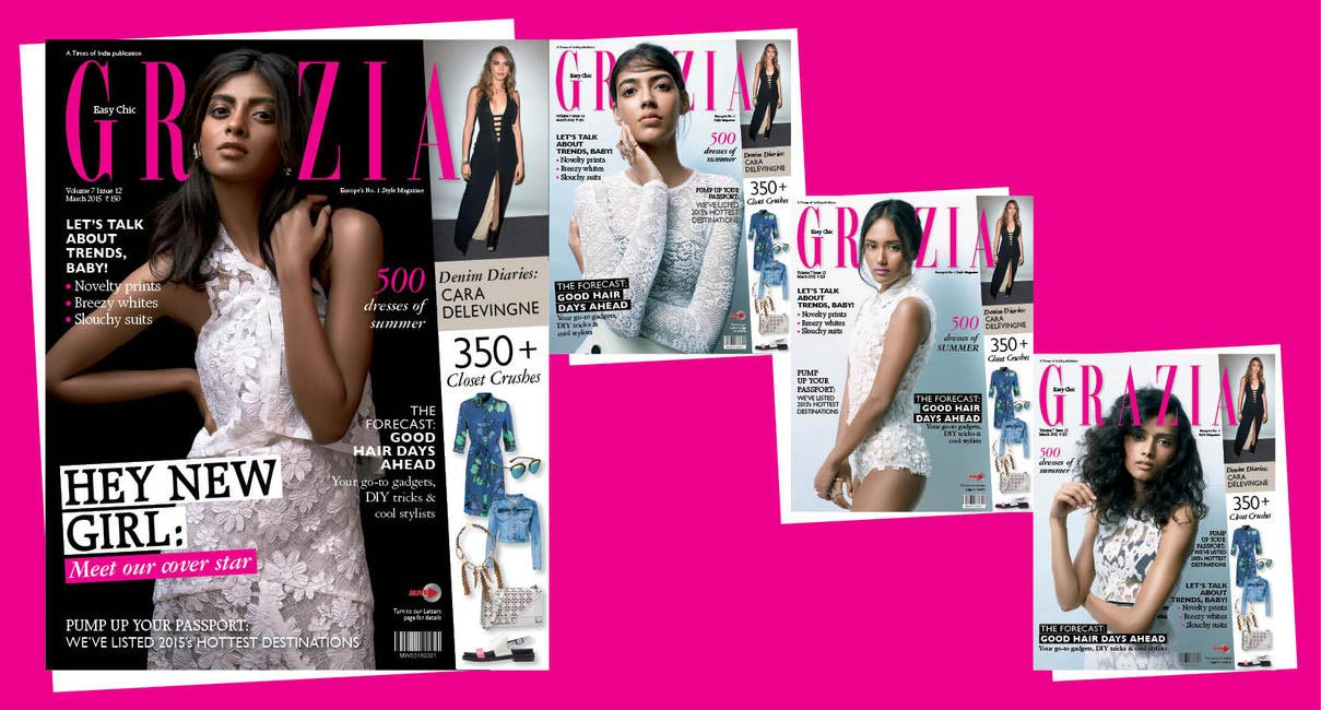 Grazia Cover Girl Hunt