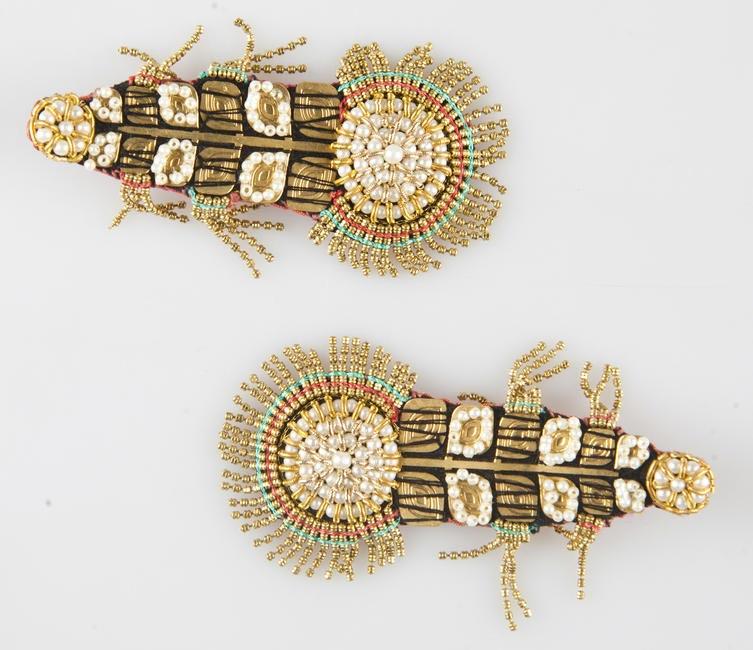 'Leafy Disco' earrings. INR 3,750