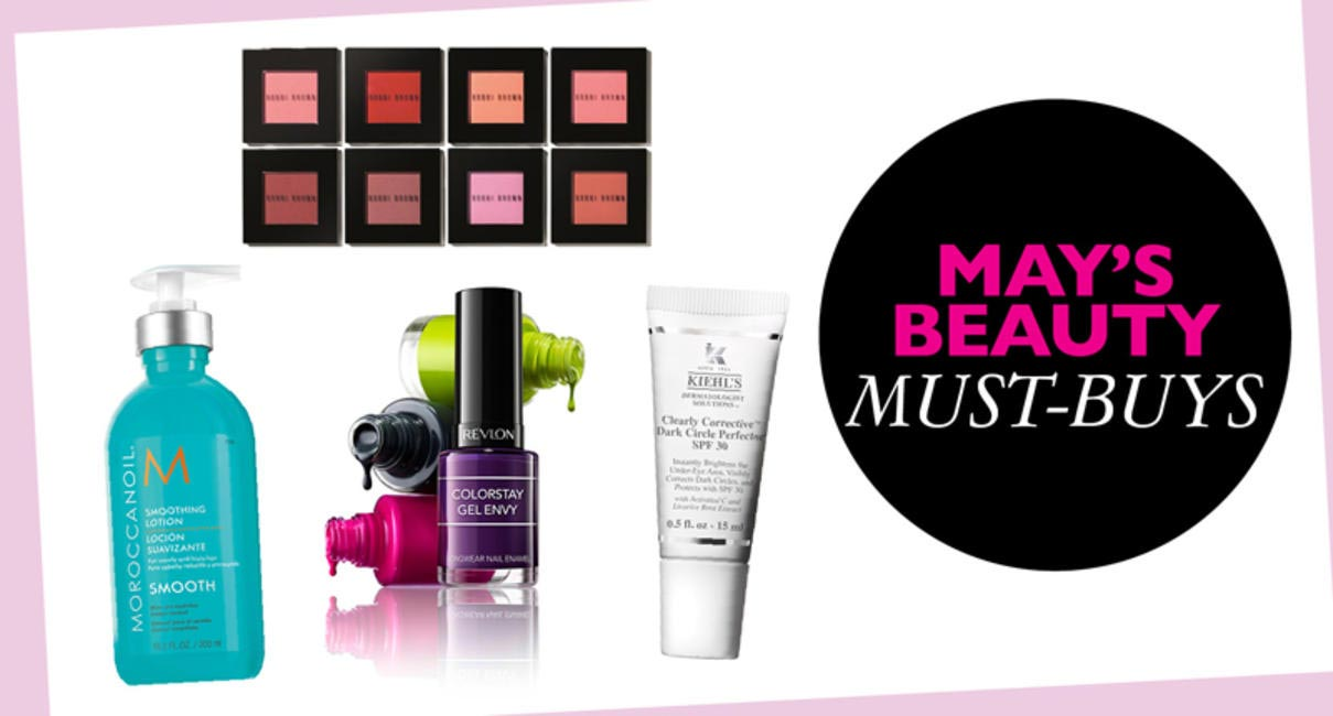 Beauty buys for May