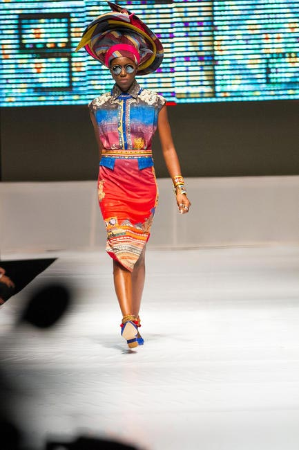 Bright colours and classic prints made a big mark