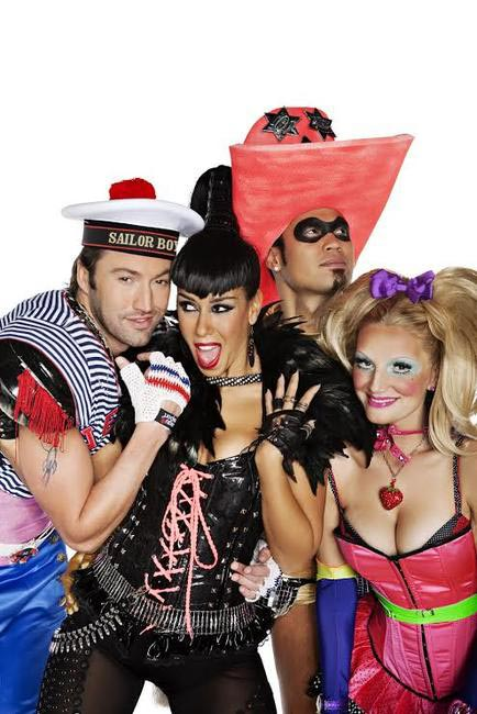Bright colours, crazy hats and shiny clothes - The Vengaboys keep it real