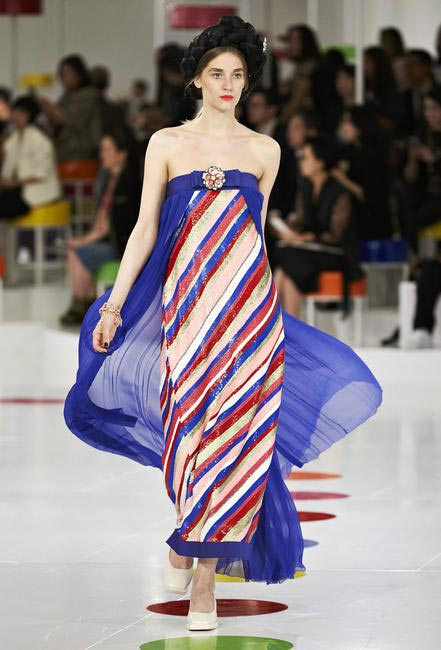 Candy stripes and playful silhouettes