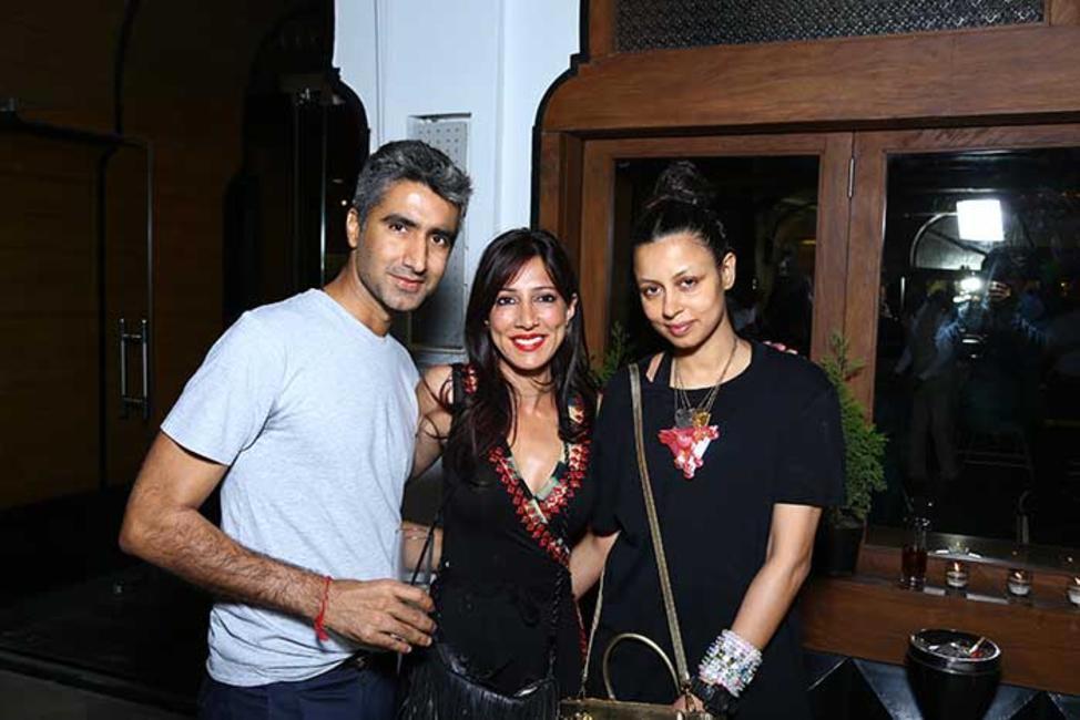 Deepak Bhagwani with Malini Ramani and Sapna