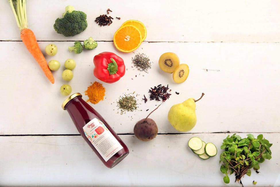 Fresh juices from Cleanse High