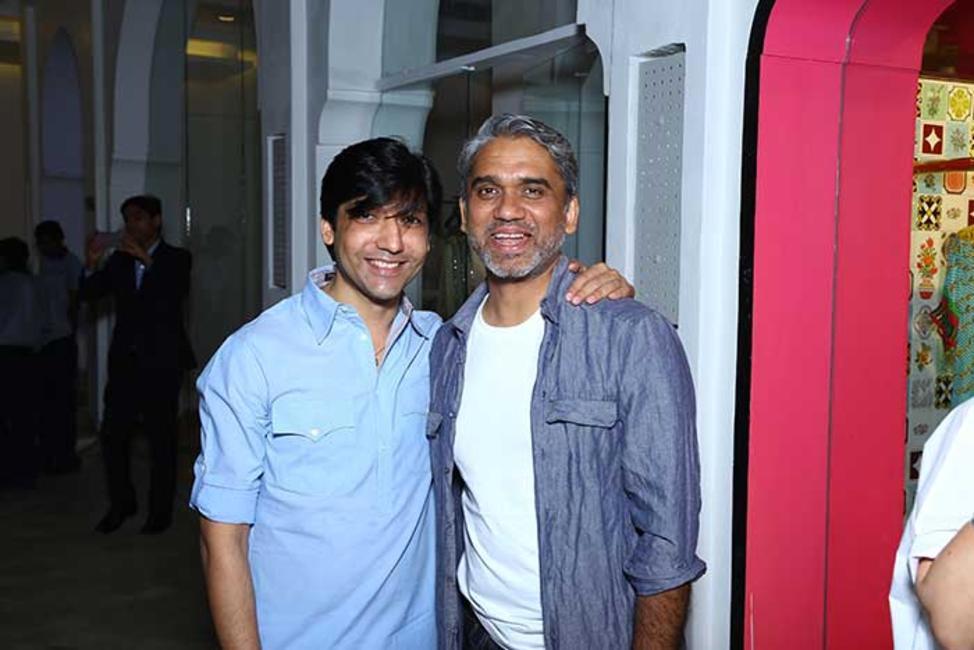 Gautam Rakha with Rajesh Pratap Singh