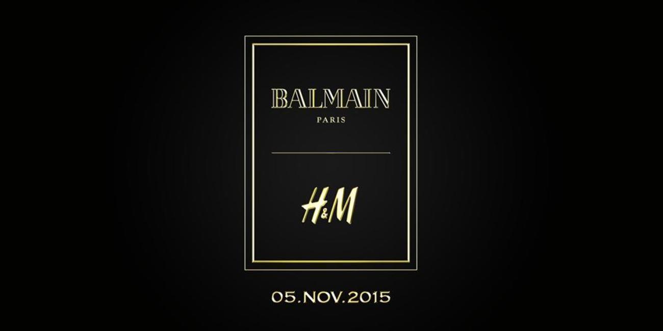 H&M x Balmain