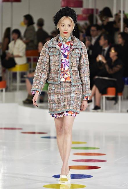 K-pop inspired tweeds