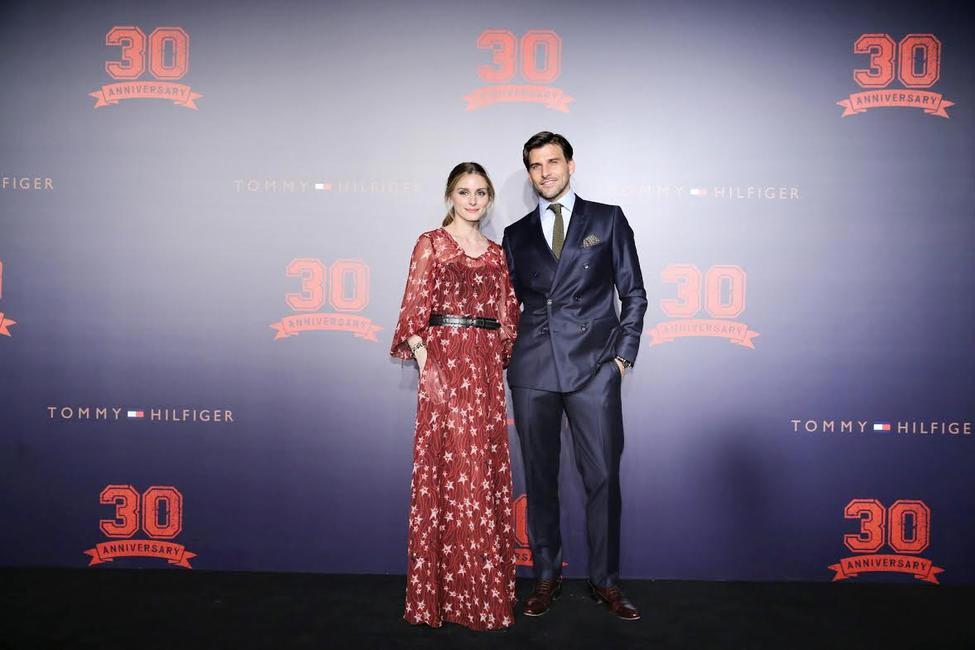 Olivia Palmero and Johannes Huebl