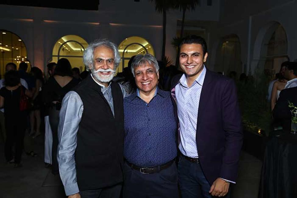 Sunil Sethi, Sanjeev Batra and Samegh Batra