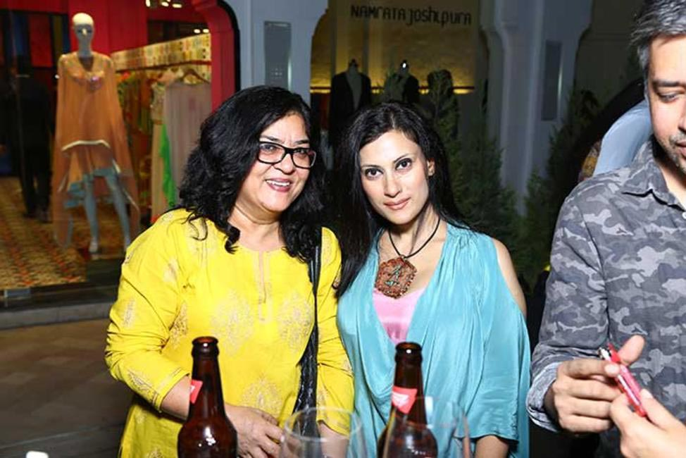 Sushma Puri with Radhika Jha