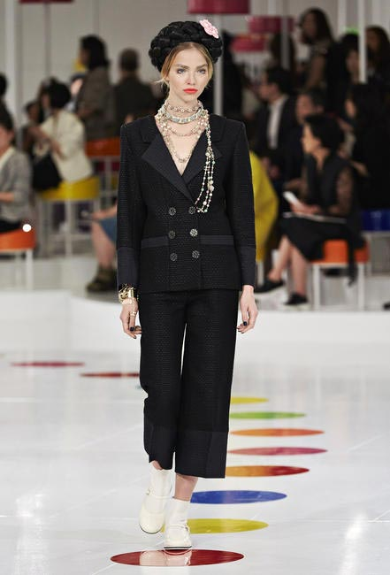 The Chanel suit gets a modern upgrade