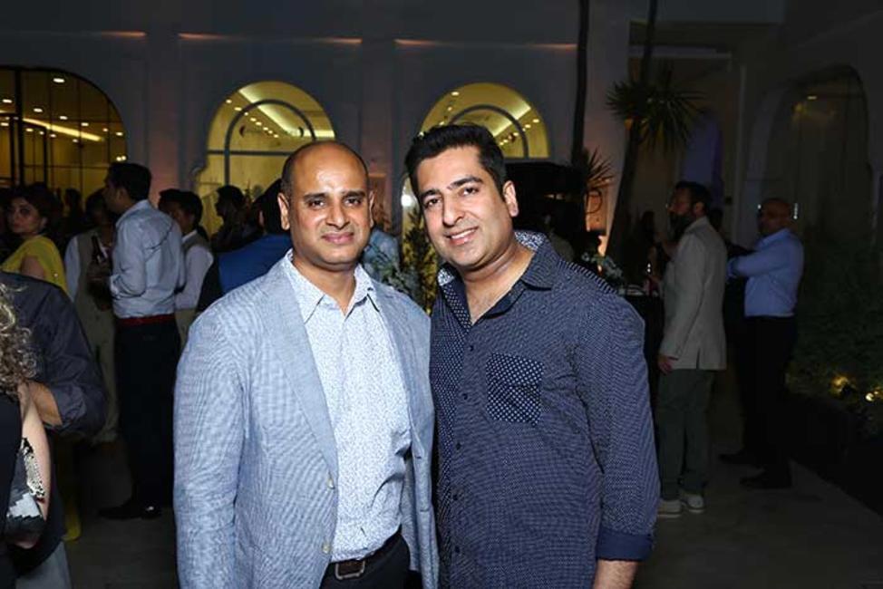 Vivek Sood with Rahul Khanna