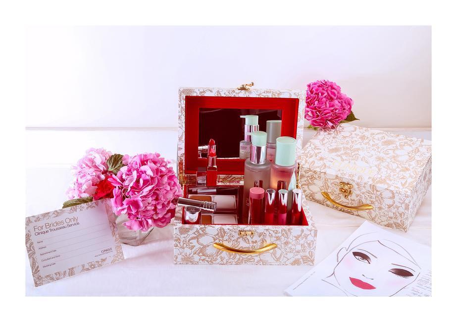 Clinique's Bridal Trousseau Box