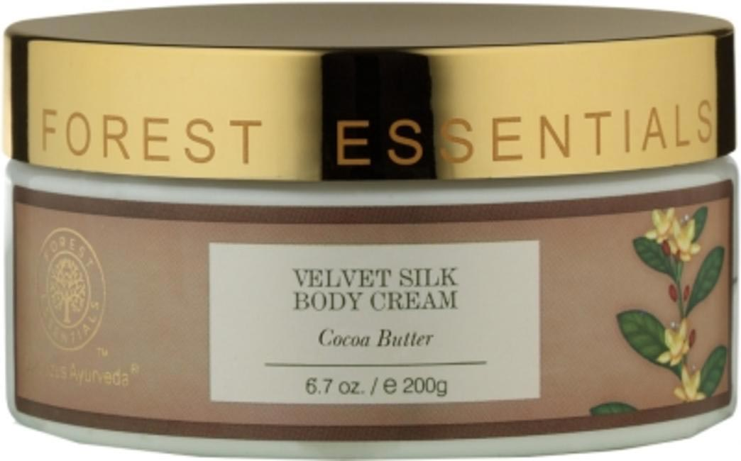 Forest Essentials Velvet Body Cream with Cocoa Butter