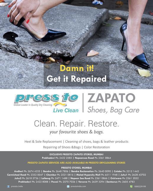 Pressto Zapato, at a place near you
