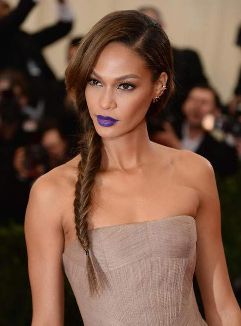 Joan Smalls at last year's Costume Institute Gala