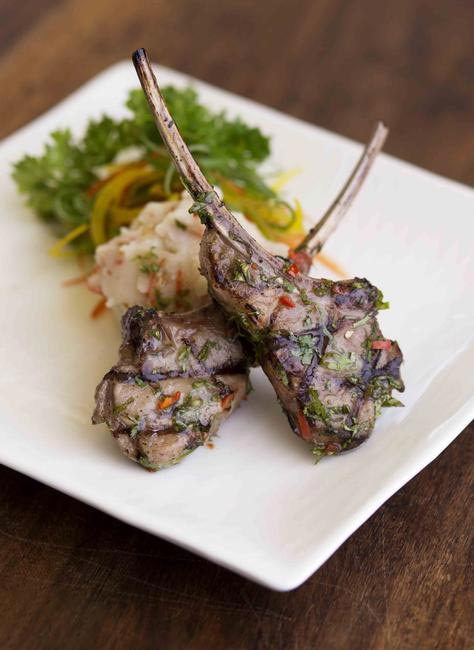 Miso citrus new zealand lamb chops