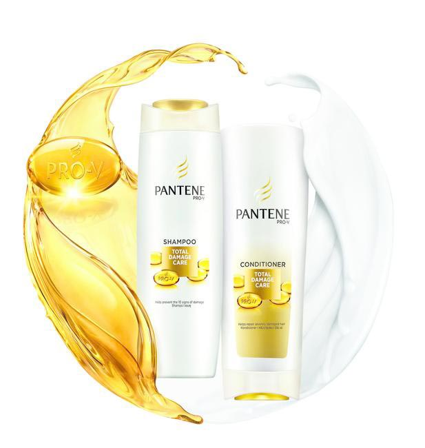 New & Improved Pantene Total Damage Care Shampoo & Conditioner