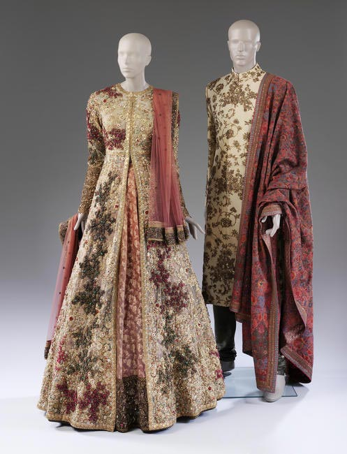 Sabyasachi Wedding Ensemble, 2015 at Victoria and Albert Museum, London