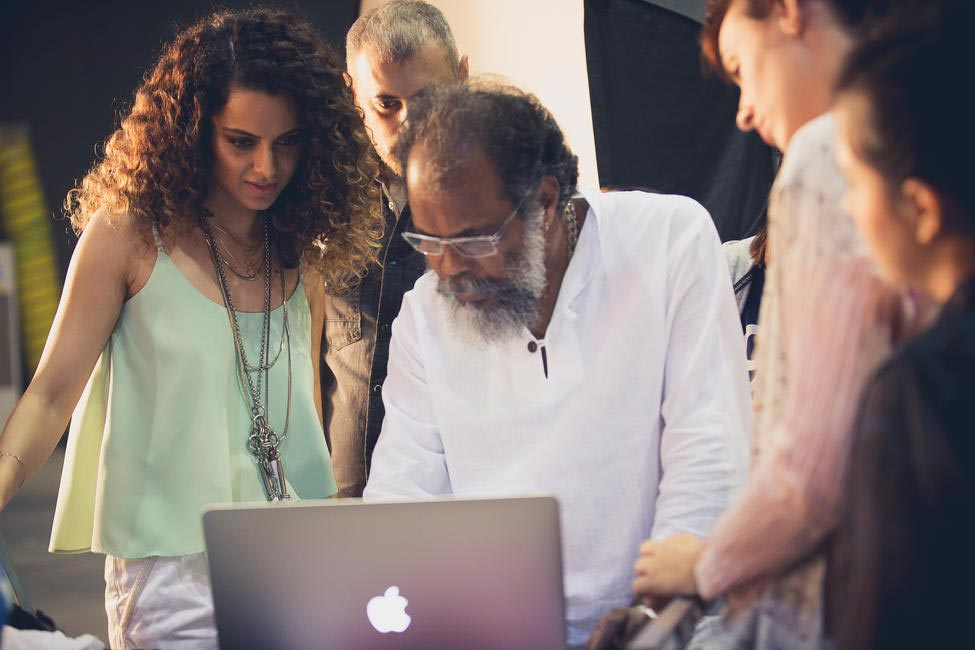 Behind the scenes with Kangana for Vero Moda