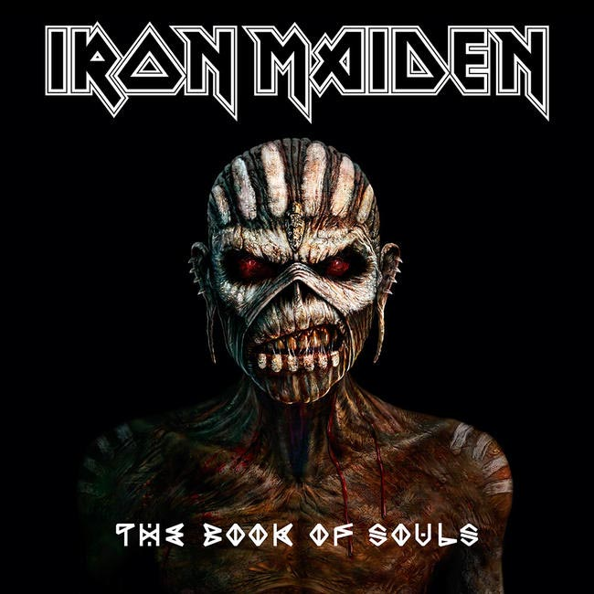 Iron Maiden - Book of Souls - Album Art