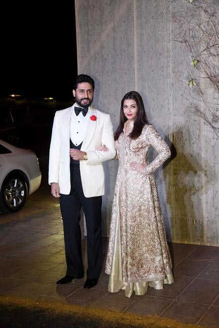 Amitabh Bachchan and Aishwarya Rai Bachchan