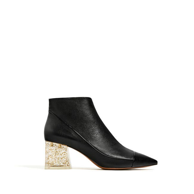 Ankle boots, Zara, INR 7,990