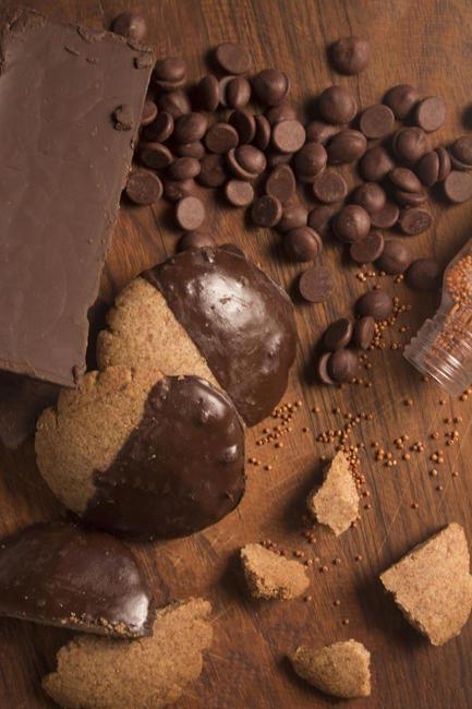 Dark Choco Ragi Cookies