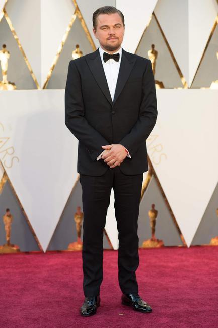 Leonardo DiCaprio in Giorgio Armani