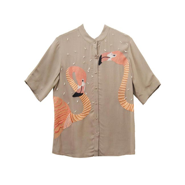 Scorpio- Shahin Mannan Flamingo Shirt