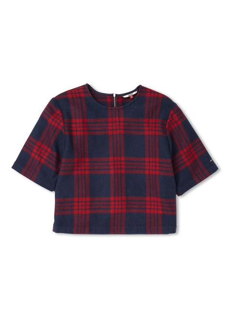 Cropped blouse, Tommy Hilfiger, INR3,879
