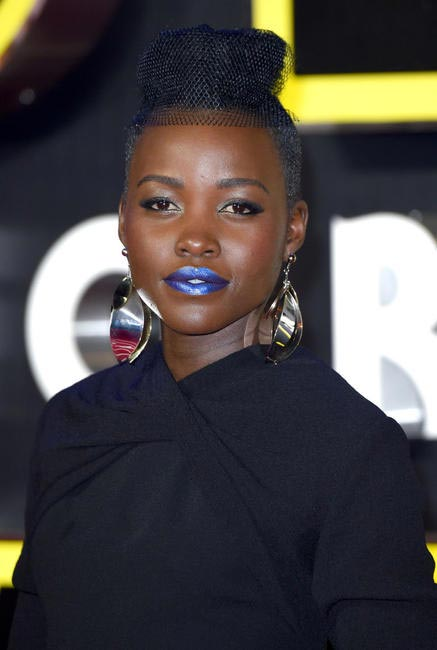 Lupita Nyong'o does Power Pouts