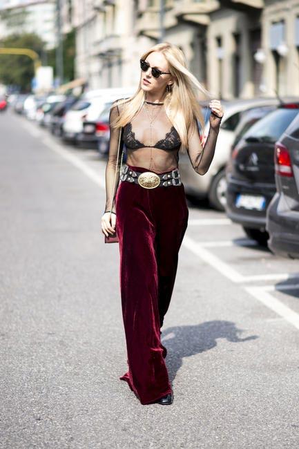 Milan street style, SS17