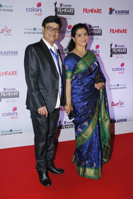 Sachin and Supriya Pilgaonkar