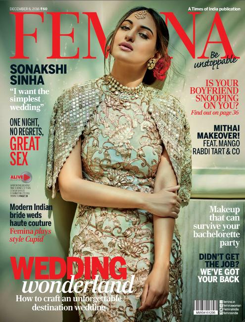 Sonakshi Sinha for Femina