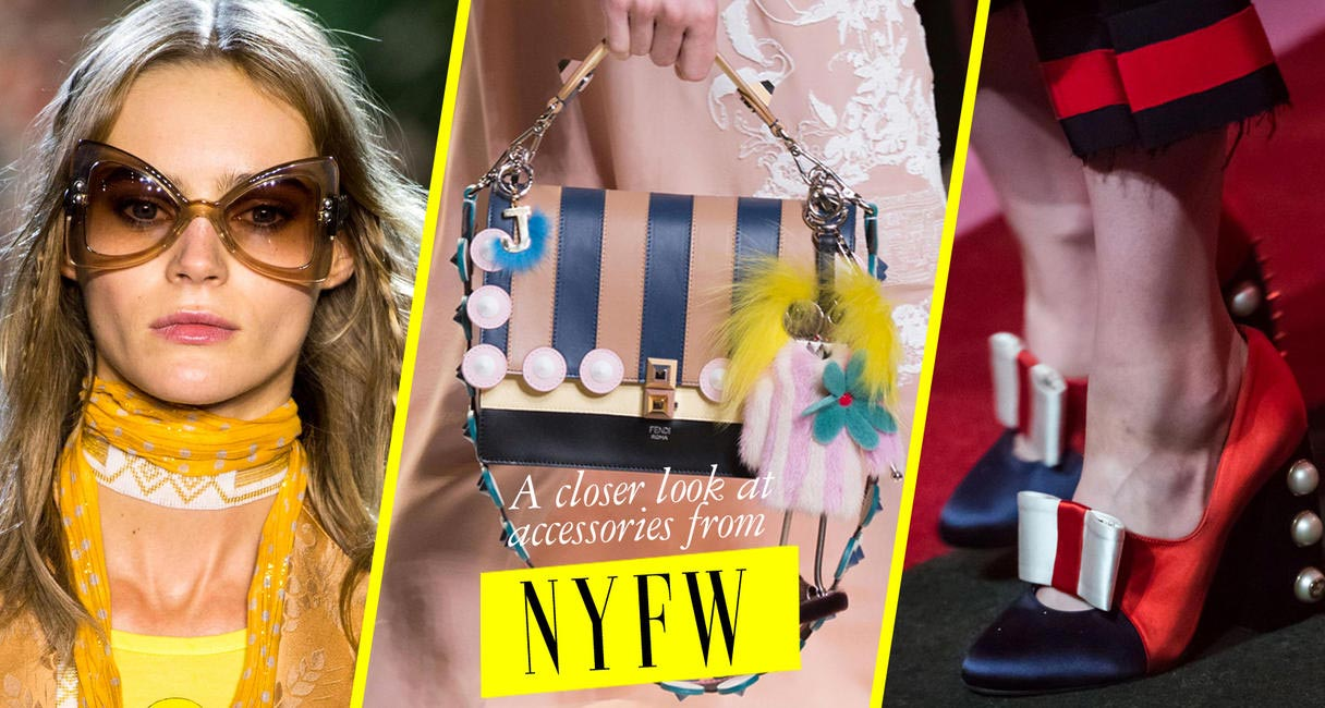 Accessories from #NYFW