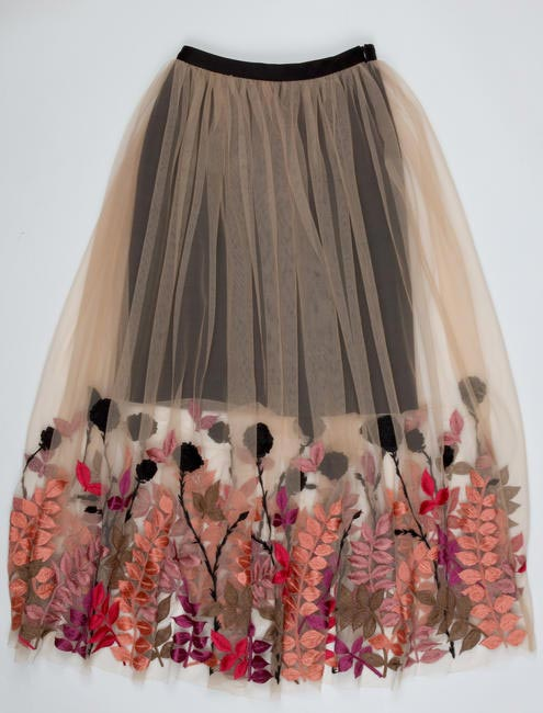 Embroidered skirt, Varun Bahl, price on request