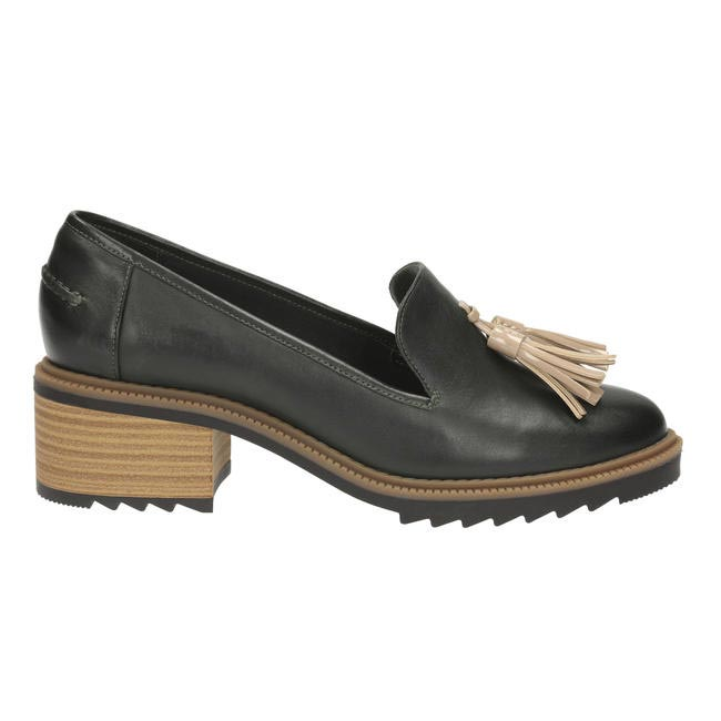 Heeled loafers, Clarks, Rs. 5,999