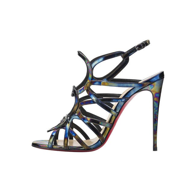 Strappy heels, Christian Louboutin, price on request
