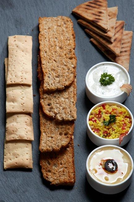 Mezze Platter at Garde Manger