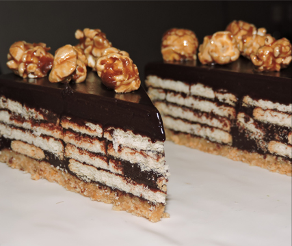 Grandmama's Chocolate Biscuit Cake