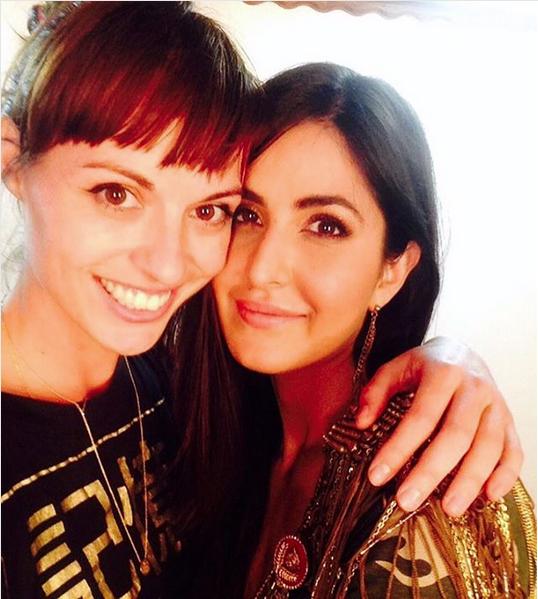 Biana with her bestie Katrina Kaif