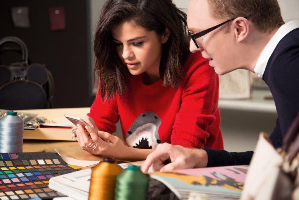 Selena Gomez and Stuart Vevers