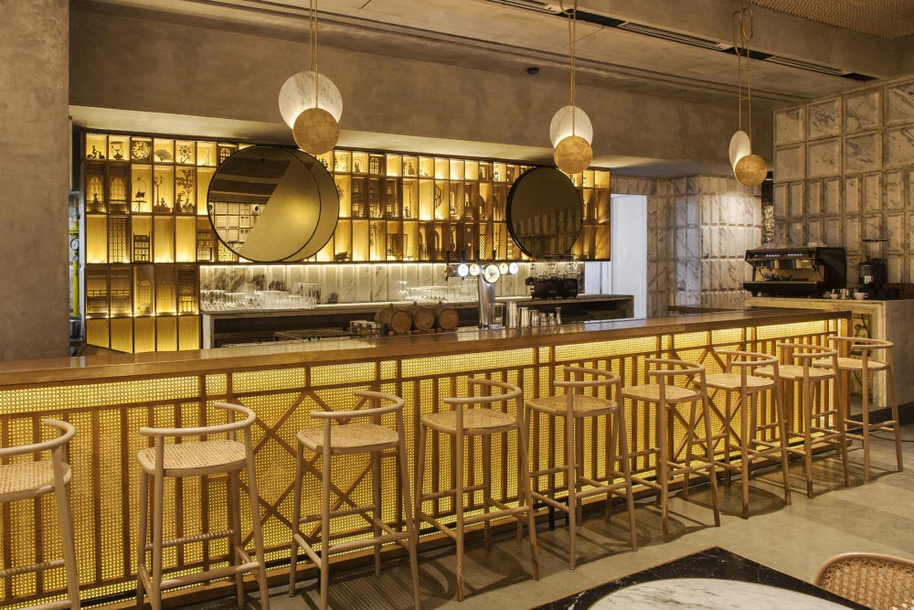 The lavish bar